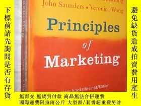 二手書博民逛書店Principles罕見of Marketing: Third