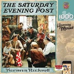 【KANGA GAMES】拼圖 週六晚報 - 軍中故事 Saturday Evening Post - Homecoming Marine 1000片