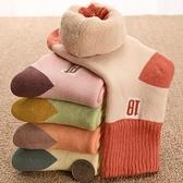 襪子 男女童襪子冬季加厚加絨保暖純棉中大童秋冬毛巾襪寶寶兒童厚襪子-年終穿搭new Year