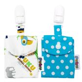 藍色企鵝 平安符保護袋 寶寶護身符袋(2入) 40410 好娃娃