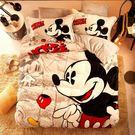 卡通床包 法蘭絨 經典米奇 雙人床包組 5尺 加絨雙人床包 米奇床包 迪士尼 床包 被套 佛你企業