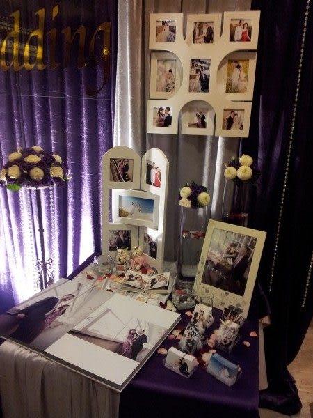 情意花坊網路花店~新北市永和花店專業婚禮會場佈置~相片大圖輸出鮮花佈置(蓮香齋)