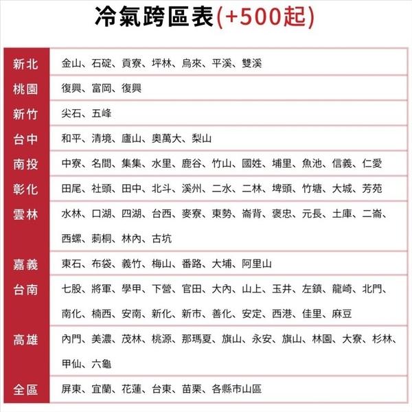 美的【MVC-A50HD/MVS-A50HD】變頻冷暖分離式冷氣8坪(含標準安裝)