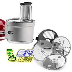 [美國直購] KitchenAid 攪拌機配件 KSM2FPA Food Processor Attachment with Commercial Style Dicing Kit, Silver