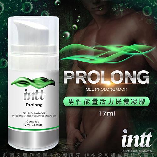 台灣總代理公司貨 男性持久潤滑液 情趣用品 巴西Intt Prolong 男性興奮 男性能量活力保養凝膠 17ml