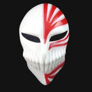 萬聖節cosplay道具 黑崎一護面具
