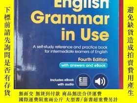二手書博民逛書店English罕見Grammar in Use with Answers【英語語法運用】Y181909 Ray