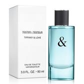 Tiffany&Co Tiffany&Love 愛語男性淡香水-Tester(90ml)【ZZshopping購物網】
