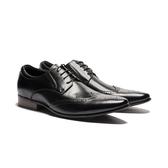 Waltz-真皮雕花紳士鞋212576-02黑