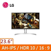 LG 樂金 27型 IPS 4K UHD 低藍光不閃屏 螢幕顯示器 27UL550-W