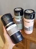 韓版大容量不銹鋼保溫杯便攜簡約戶外運動水壺男女士學生個性水杯