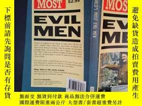 二手書博民逛書店The罕見World s Most Evil Men(詳見圖)Y