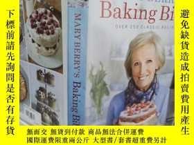 二手書博民逛書店實物拍照;Mary罕見Berrys Baking Bible: