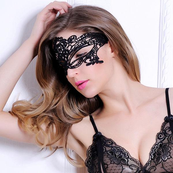 聖誕PARTY派對焦點黑色舞會性感鏤空面具- 現貨19款 【快速出貨】