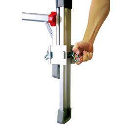 【小巨人工作梯】長短腳調整桿,讓您作業輕鬆方便又安全