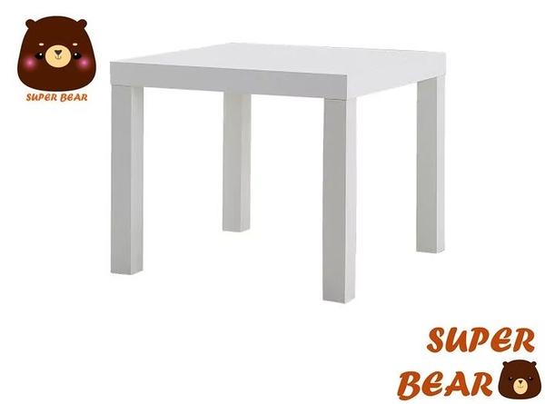 邊桌  矮桌 茶几 白色 LACK/IKEA