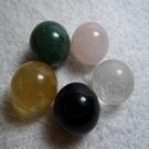 【Ruby工作坊】NO.136優質五行水晶球五顆一組(加持)G/P/YI/W/B【紅磨坊】