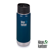klean kanteen Insulated Wide 16oz寬口保溫鋼瓶(54mm) 附新型咖啡蓋『深海藍』K16VWPCC不鏽鋼水壺│保溫杯