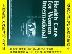 二手書博民逛書店Health罕見care for women internati