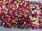 小星花混色無梗花頭,大小顏色隨機,一份1克(約40-45朵)
