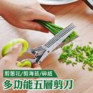 剪刀 食物剪刀 蔥花剪刀 不銹鋼剪刀 萬用剪刀 碎食剪 碎菜剪 碎紙剪 海苔剪 廚房 美工 碎紙