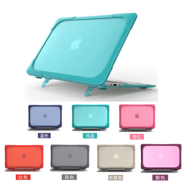 Macbook Air Pro Retina touchbar 保護殼 支架筆電殼 筆電殼 Macbook保護殼 電腦殼 透氣