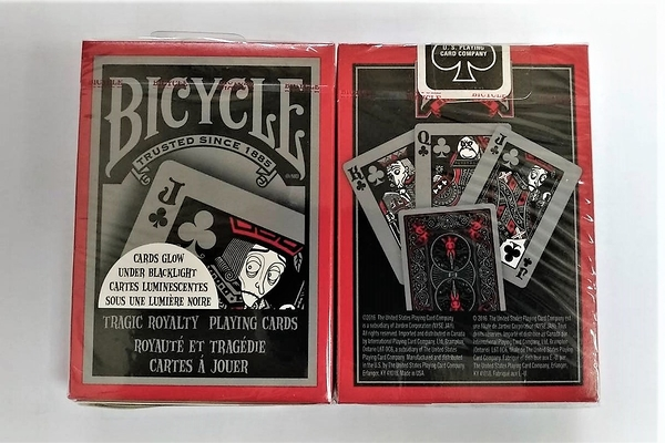【USPCC 撲克】橋牌BICYCLE 808 TRAGIC ROYALTY V2