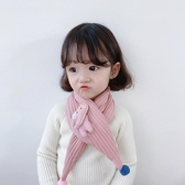 兒童圍巾可愛卡通小象男童寶寶圍脖秋 新保暖夾棉女童脖套魔法鞋櫃