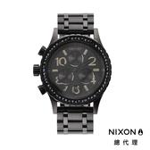 【酷伯史東】NIXON 38-20 高傲霸氣 黑 顯白 潮人裝備 潮人態度 禮物首選