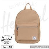 Herschel 後背包 Grove X-Small  休閒後背包 駝色 Grove XS-2330 得意時袋