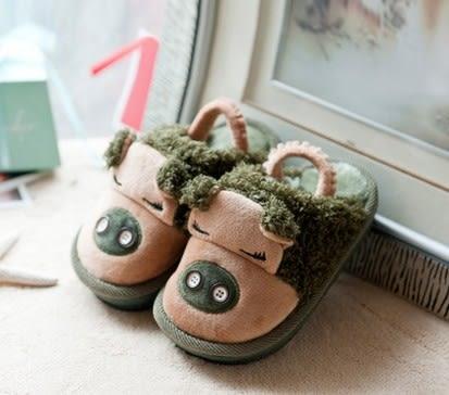 冬天 卡通豬 厚底防滑 大人兒童 家居棉拖鞋