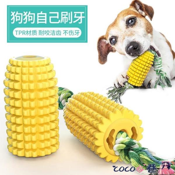 寵物玩具 狗狗玩具磨牙發聲金毛潔齒球耐咬解悶神器寵物用品小中大型犬繩結 coco