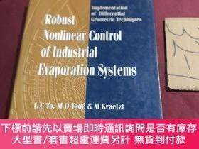 二手書博民逛書店robust罕見nonlinear control of industrial evaporation syste