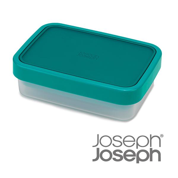 《Joseph Joseph英國創意餐廚》翻轉午餐盒(藍綠色)