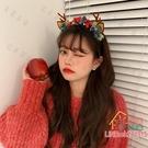 聖誕髮飾 圣誕髮箍女可愛百搭外出髮卡圣誕節韓國髮夾夾子髮飾頭飾頭箍飾品耶誕節