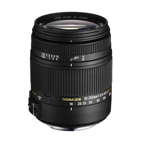 【聖影數位】SIGMA 18-250mm F3.5-6.3 DC MACRO OS HSM APS-C 專用旅遊鏡頭 (恆伸公司貨 三年保固)