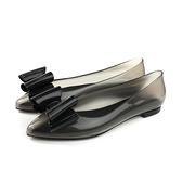 HUMAN PEACE 灰黑色 晴雨鞋-尖頭平底 女鞋 MELSA06-24 no420