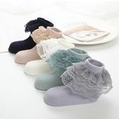 女童蕾絲襪 兒童襪子純棉韓版多層蕾絲女童花邊襪春秋新款寶寶短襪公主襪 夏季新品