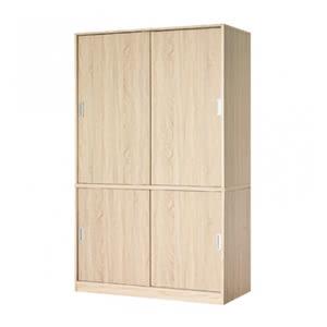 米勒雙層推門衣櫃