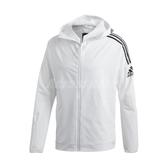 adidas 外套 Z.N.E. Jacket 白 黑 男款 防風 防潑水 運動 訓練 【ACS】 FQ7227