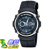 [美國直購] 手錶 Casio Men s G300-3AV G-Shock Analog-Digital Black Street Rider Watch