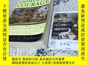 二手書博民逛書店英文原版罕見undaunted courage : Meriwe