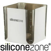 【Siliconezone】520ml施理康耐熱立方造型計量杯&計量匙-黑