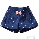 女童休閒短褲2018夏裝新款韓版中大童寶寶兒童寬鬆薄款外穿熱褲子   米娜小鋪