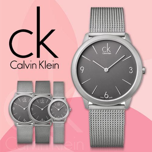 CK手錶 專賣店 K3M51154 大 女錶 石英無秒針 礦物抗磨玻璃鏡面 不鏽鋼錶帶米蘭編織帶