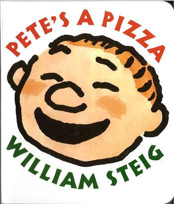 【麥克書店】PETE PIZZA /精裝繪本+CD《主題:想像》