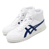 Asics Tiger 休閒鞋 Japan L 白 藍 虎爪 復古 籃球鞋 男鞋 高筒 【ACS】 1191A270100