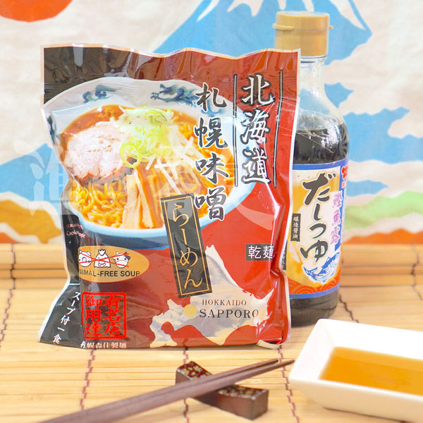 ღ【【森住製麵】北海道味增拉麵