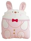 GMP BABY 可愛兔 粉 純棉造型收納被 90*120