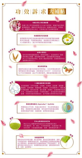 ||新品上市|| 馥郁玫瑰田 生物素健髮護色洗髮露 Rose Farm Biotin Hair Revitalizing Shampoo